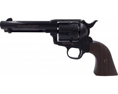 Colt SAA Peacemaker S-BK2 airsoft revolver-1