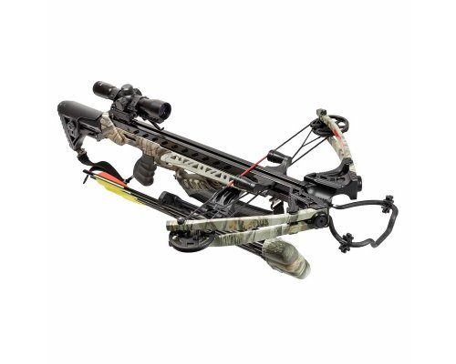 SAMOSTREL COMPOUND MKXB56 175 LBS 375 FPS FROST WOLF GOD CAMO-1