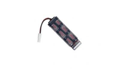 8,4v baterija, 1400mAh NiMH, mini-u-1