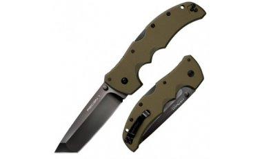 COLD STEEL RECON 1 Tanto Point OD GREEN Preklopni Nož -1