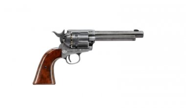 COLT SINGLE ACTION ARMY SAA PEACEMAKER ANTIQUE FINISH Pellet Zračni Revolver na dijabole -1