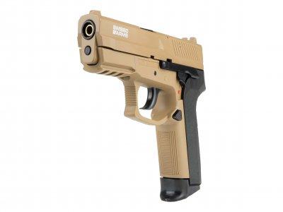 SWISS ARMS MLE HPA spring airsoft pištolj FDE-2