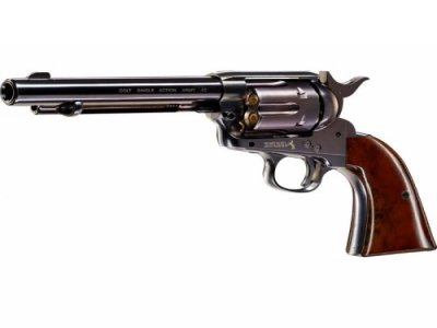 COLT SINGLE ACTION ARMY SAA PEACEMAKER BLUED Zračni Revolver-1