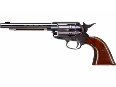 COLT SINGLE ACTION ARMY SAA PEACEMAKER BLUED Zračni Revolver-2