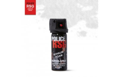 POLICE RSG FOAM PEPPER DEFENSE SPRAY 50ML-1