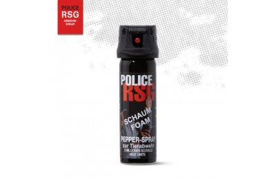 POLICE RSG FOAM PEPPER DEFENSE SPRAY 63ML-1