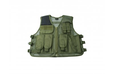 RECON Tactical vest, OD Green-1