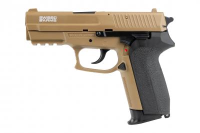 SWISS ARMS MLE HPA spring airsoft pištolj FDE-1