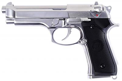 WE M92 GBB AIRSOFT PIŠTOLJ silver-1