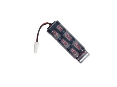 ASG 8,4v baterija, 1400mAh NiMH, mini-u-1