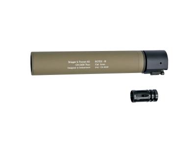 B&T ROTEX - III airsoft produžetak cijevi (tan)-1