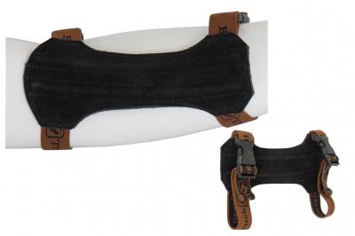 BUCK TRAIL kožni štitnik za podlakticu crni (M) -1