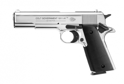 Colt Government 1911 A1 (chrome)-1