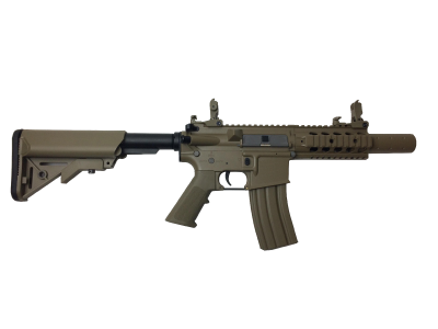 Colt M4 Special Forces mini tan airsoft replika-1