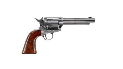 COLT SINGLE ACTION ARMY SAA PEACEMAKER ANTIQUE FINISH zračni revolver -1