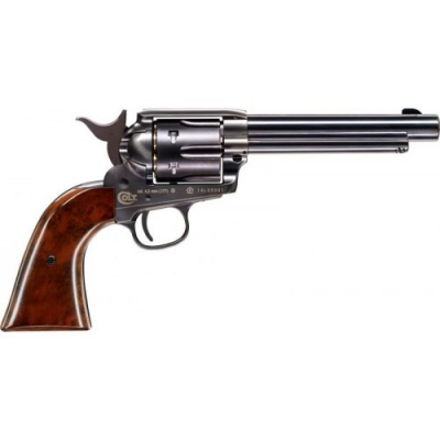 COLT SINGLE ACTION ARMY SAA PEACEMAKER BLUE FINISH Pellet Zračni Revolver na dijabole-1