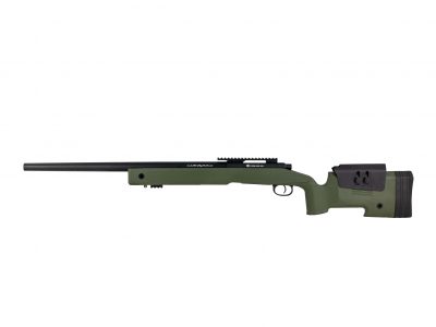FN SPR A2 spring airsoft replika OD GREEN-1