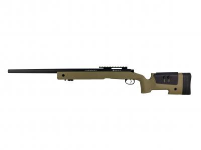 FN SPR A2 spring airsoft replika TAN-1