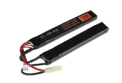 GFC Energy LiPo 7,4V 2000mAh 15/30C two-module baterija-1