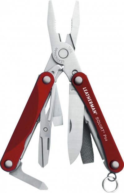 LEATHERMAN Squirt PS4 Red-1