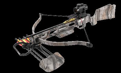 Samostrel zakrivljeni (recurve) 160 LBS (maskirni)-1