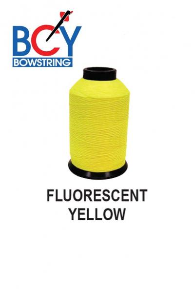 Materijal za tetivu dacron BCY B55 FLUORESCENT YELLOW 1/4 LBS -1