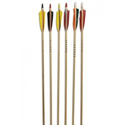 ROSE CITY ARCHERY WOOD CEDAR 35/40 Strijele-1