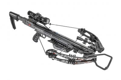 Samostrel compound Killer Instinct BURNER 415fps PRO PACKAGE TACTICAL CHAOS-1