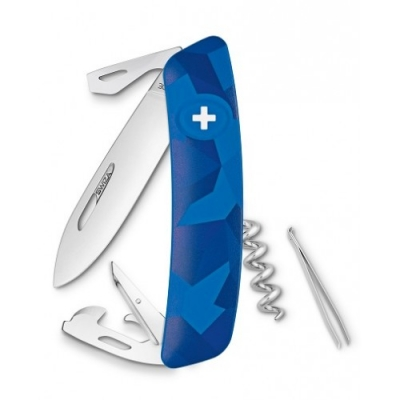 SWIZA C03 LIVOR BLUE Švicarski Preklopni Nož-1