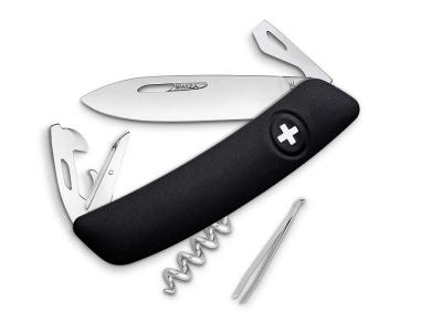SWIZA D03 crni Švicarski Preklopni Nož -1