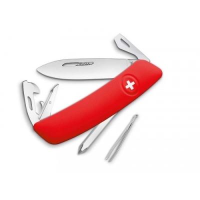 SWIZA D04 CRVENI Švicarski Preklopni Nož-1
