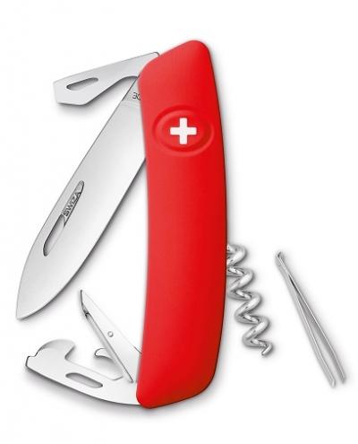 SWIZA D03 crveni Švicarski Preklopni Nož-1