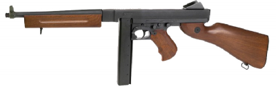 THOMPSON M1A1 MILITARY AEG airsoft replika-1