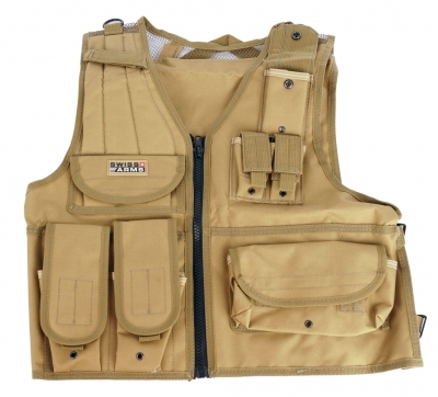 SWISS ARMS TACTICAL TAN prsluk-1