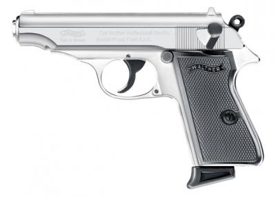 Walther PP startno-plinski pištolj CHROME-1