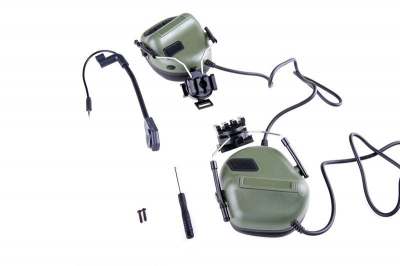 Z-Tactical ERM H headset - Foliage Green-1